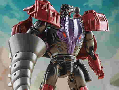 Toyworld推出TW-BS01野兽战金属变体一代争霸王龙威震天