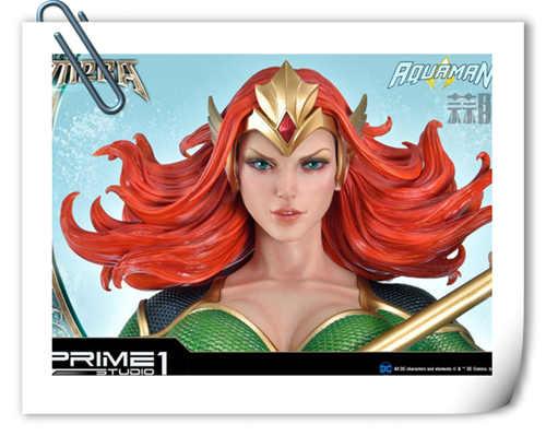 Prime 1 Studio发布DC漫画版海后湄拉雕像 身形超赞?