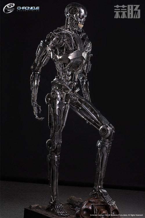这款1:1 终结T-800骨架雕像 价值7万元? 模玩 第1张