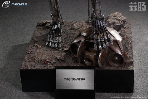 这款1:1 终结T-800骨架雕像 价值7万元? 模玩 第5张