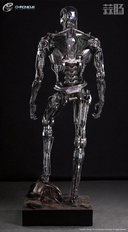 这款1:1 终结T-800骨架雕像 价值7万元? 模玩 第3张