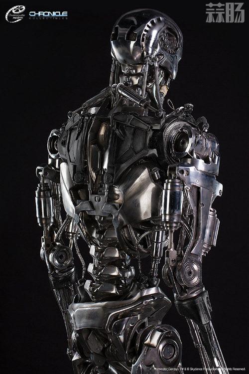 这款1:1 终结T-800骨架雕像 价值7万元? 模玩 第6张