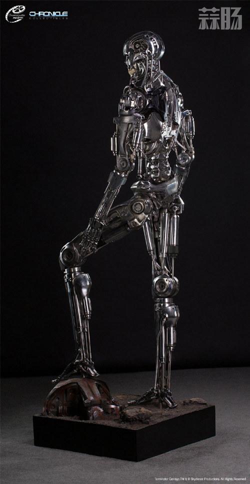 这款1:1 终结T-800骨架雕像 价值7万元? 模玩 第8张
