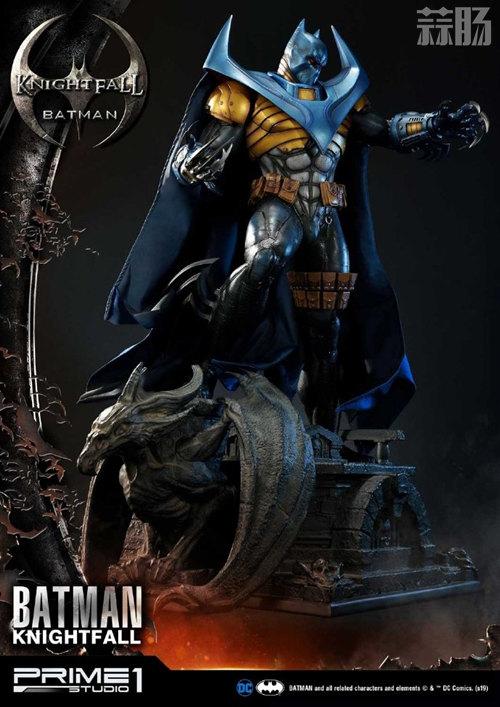 P1S 发布 DC漫画版骑士陨落版蝙蝠侠雕像  将近8000元 模玩 第4张