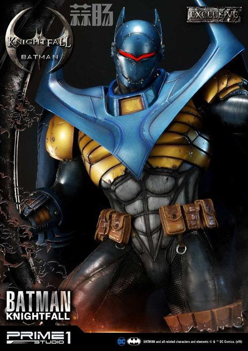 P1S 发布 DC漫画版骑士陨落版蝙蝠侠雕像  将近8000元 模玩 第2张