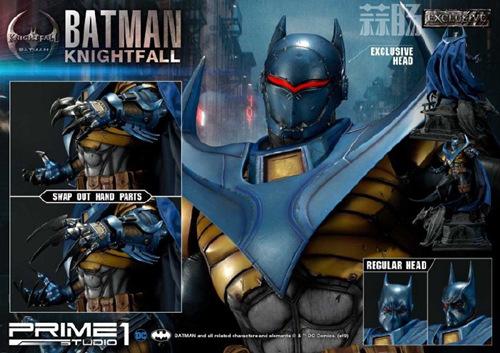 P1S 发布 DC漫画版骑士陨落版蝙蝠侠雕像  将近8000元 模玩 第3张