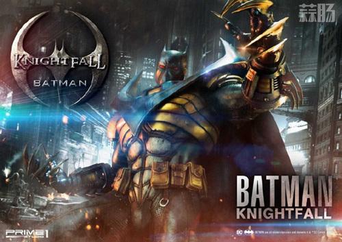 P1S 发布 DC漫画版骑士陨落版蝙蝠侠雕像  将近8000元 模玩 第6张