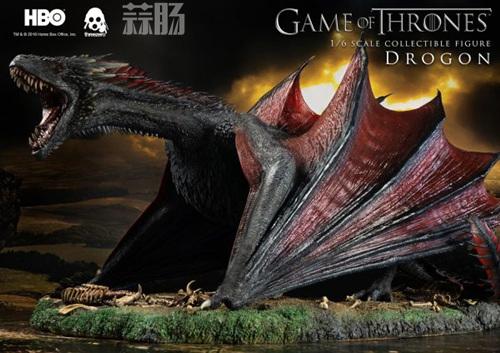 threezero公布《权力的游戏》飞龙官图 模玩 第2张
