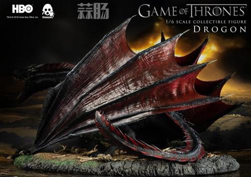 threezero公布《权力的游戏》飞龙官图 模玩 第4张
