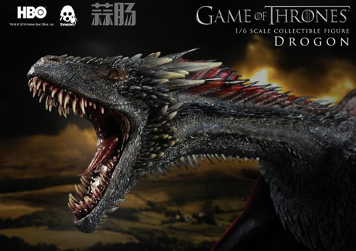 threezero公布《权力的游戏》飞龙官图 模玩 第9张