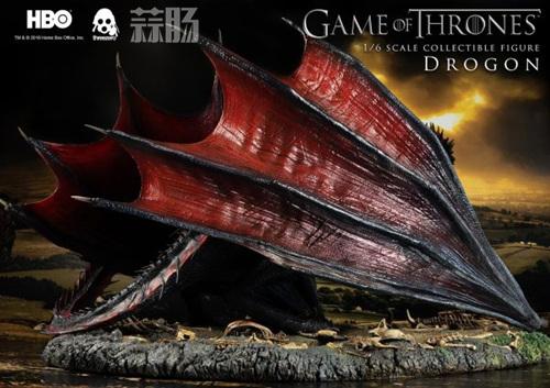 threezero公布《权力的游戏》飞龙官图 模玩 第6张