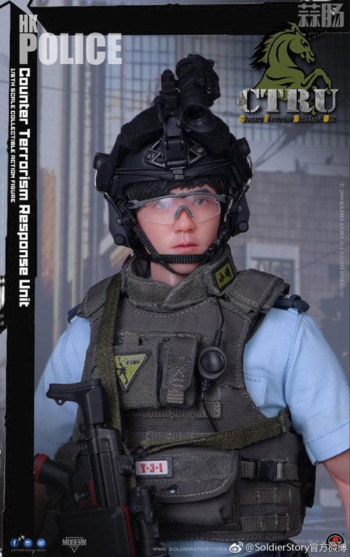 SoldierStory公布1/6 香港警察 反恐特勤队小明 模玩 第7张