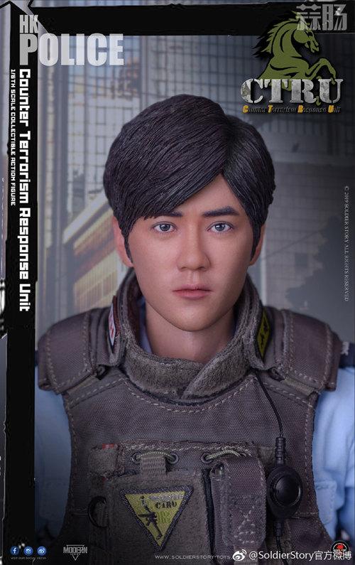 SoldierStory公布1/6 香港警察 反恐特勤队小明 模玩 第8张