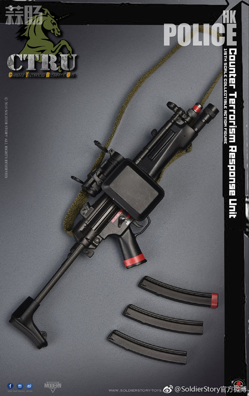 SoldierStory公布1/6 香港警察 反恐特勤队小明 模玩 第9张