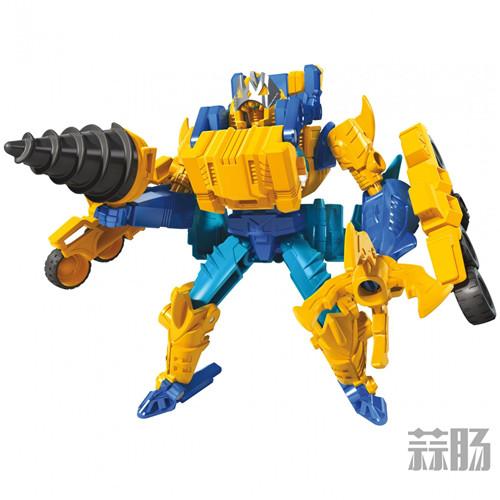 孩之宝将推出变形金刚Cyberverse新系列Spark Armor星火装甲 变形金刚 第10张