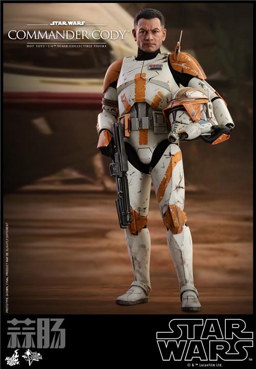 Hot Toys推出《星球大战前传3西斯的复仇》指挥官科迪1:6人偶 模玩 第1张