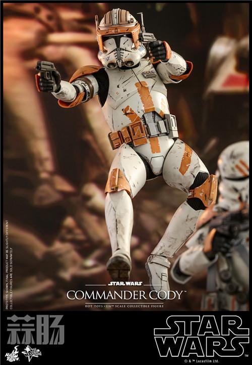 Hot Toys推出《星球大战前传3西斯的复仇》指挥官科迪1:6人偶 模玩 第3张