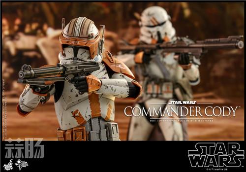 Hot Toys推出《星球大战前传3西斯的复仇》指挥官科迪1:6人偶 模玩 第5张