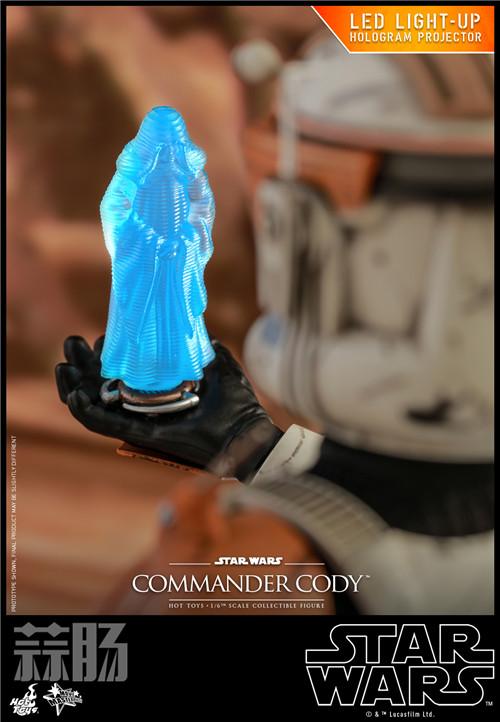 Hot Toys推出《星球大战前传3西斯的复仇》指挥官科迪1:6人偶 模玩 第8张
