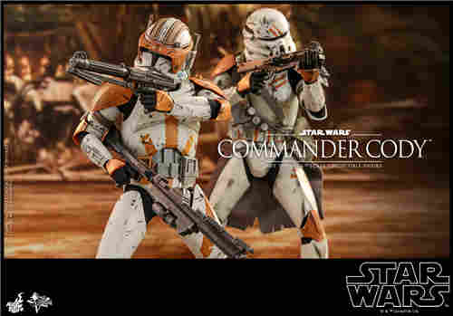Hot Toys推出《星球大战前传3西斯的复仇》指挥官科迪1:6人偶