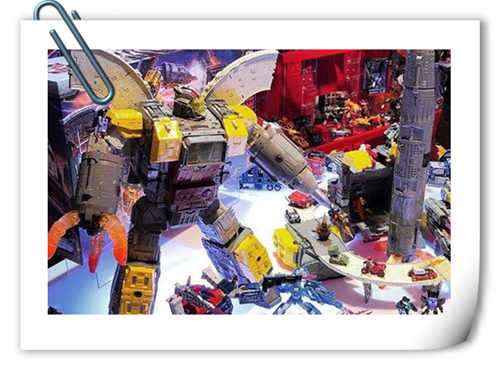 孩之宝变形金刚围城系列 泰坦级大力金刚实物公布