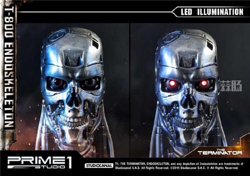 Prime 1 Studio公布出终结者T 800胸像。 模玩 终结者 Prime 1 Studio 模玩  第7张