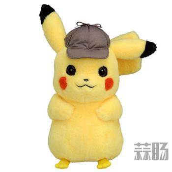 TAKARA TOMY推出《大侦探皮卡丘》1:1皮卡丘玩偶!