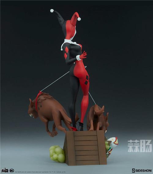 Sideshow公布一款蝙蝠侠动画系列小丑女和鬣狗的人偶! 人偶 Sideshow 蝙蝠侠 模玩 模玩  第4张