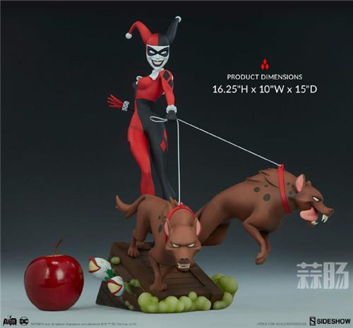 Sideshow公布一款蝙蝠侠动画系列小丑女和鬣狗的人偶! 人偶 Sideshow 蝙蝠侠 模玩 模玩  第2张
