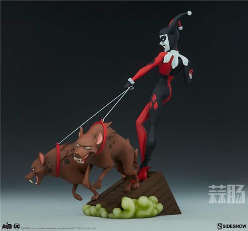 Sideshow公布一款蝙蝠侠动画系列小丑女和鬣狗的人偶! 人偶 Sideshow 蝙蝠侠 模玩 模玩  第3张