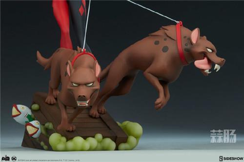 Sideshow公布一款蝙蝠侠动画系列小丑女和鬣狗的人偶! 人偶 Sideshow 蝙蝠侠 模玩 模玩  第5张