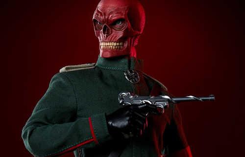 Sideshow公布 1:6 漫威反派红骷髅人偶