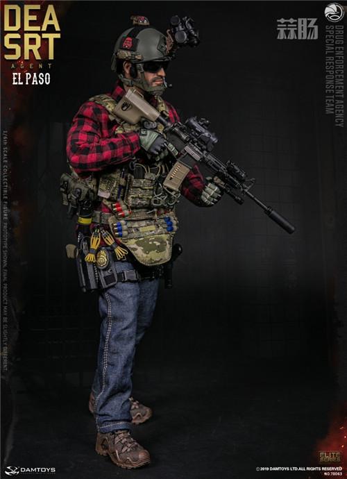 DAM推出精英系列1/6 美国DEA缉毒局-SRT特别响应小队探员 模玩 第3张