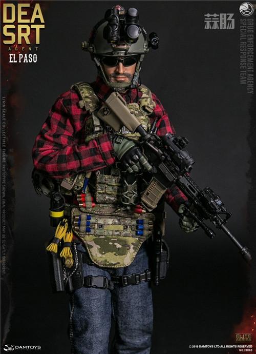 DAM推出精英系列1/6 美国DEA缉毒局-SRT特别响应小队探员 模玩 第7张