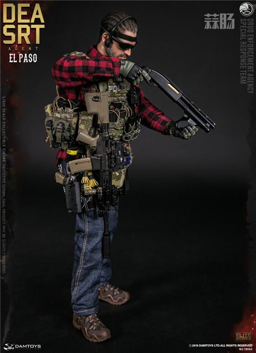 DAM推出精英系列1/6 美国DEA缉毒局-SRT特别响应小队探员 模玩 第5张