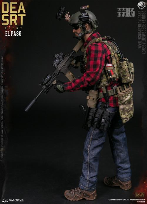 DAM推出精英系列1/6 美国DEA缉毒局-SRT特别响应小队探员 模玩 第4张