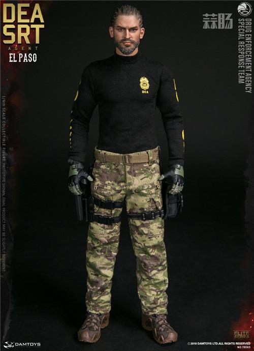 DAM推出精英系列1/6 美国DEA缉毒局-SRT特别响应小队探员 模玩 第12张