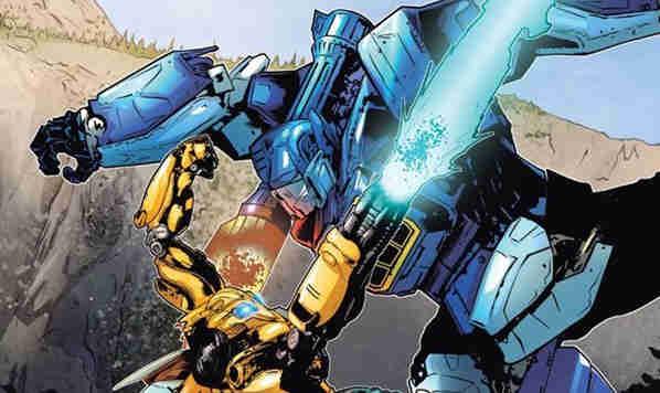 蓝光版《变形金刚:大黄蜂》将加入《大黄蜂》主题漫画