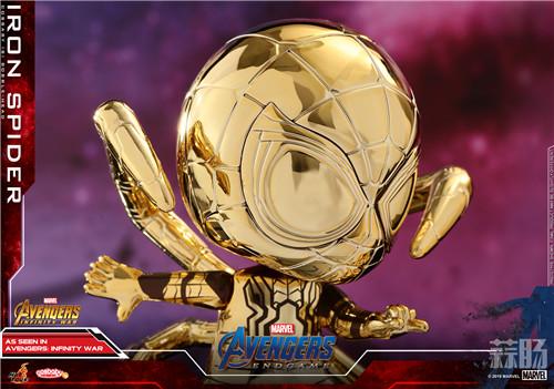 Hot Toys推出漫威《复仇者联盟4》COSBABY第三浪-金属金色版 模玩 第7张