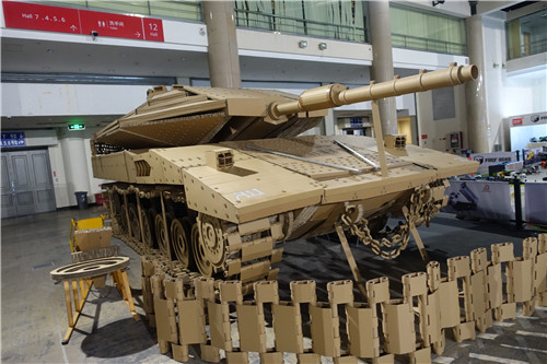 第二十届中国国际模型博览会首日返图 硬派依旧 模玩 第8张