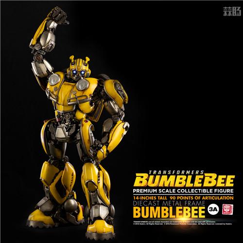 3A公开《变形金刚大黄蜂》14英寸大黄蜂可动模型 变形金刚 第1张