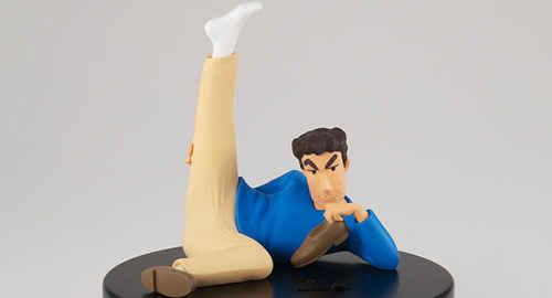 这款手办能放臭气?日本脚最臭的上班族野原广志手办公布