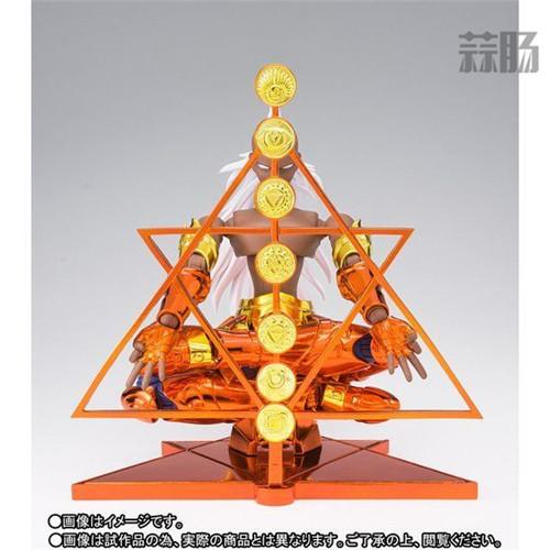 万代南梦宫公开圣衣神话EX海将军克利修纳圣衣造型 模玩 第3张