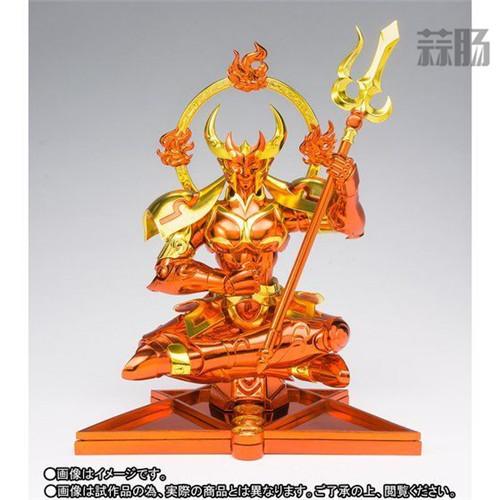 万代南梦宫公开圣衣神话EX海将军克利修纳圣衣造型 模玩 第2张