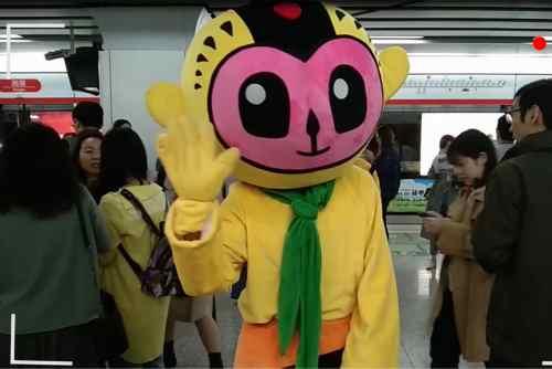 杭州国漫地铁瞬间?今天你偶遇了吗?