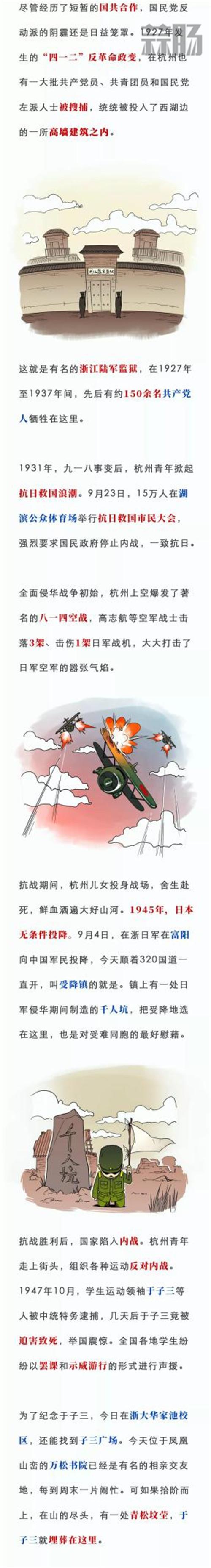 一张漫画看百年前的杭州青年 漫展 第2张