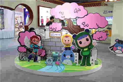 中南卡通 玩转杭州动漫节 国风展台精彩不断