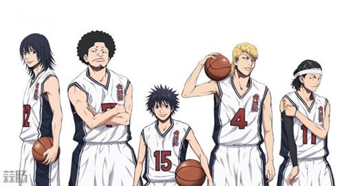 TV动画《篮球少年王》10月开播!第一段PV公开 动漫 第1张
