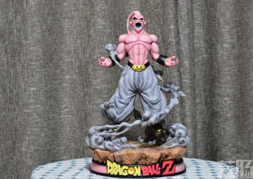 《七龙珠》魔人大布欧雕像 仰天狂笑邪气无比 模玩 第1张