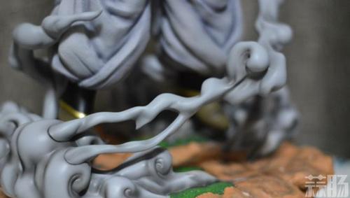 《七龙珠》魔人大布欧雕像 仰天狂笑邪气无比 模玩 第5张